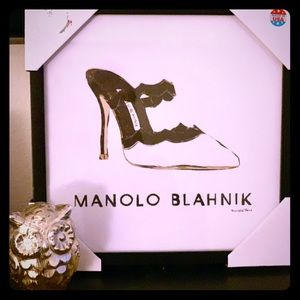 Manolo Blahnik Framed Artwork